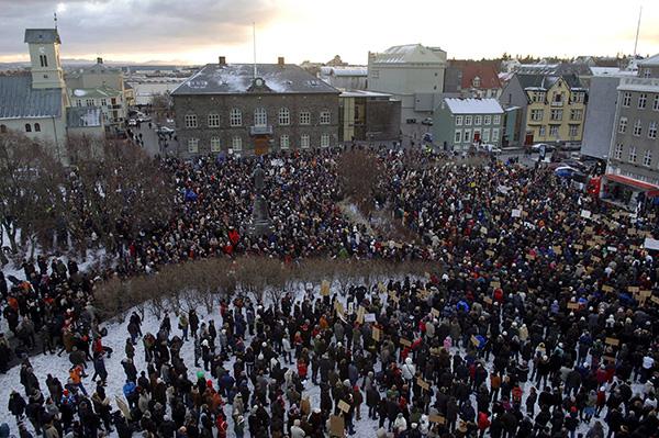 Το παράδειγμα της Ισλανδίας